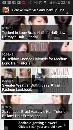 Hairstyle Tutorials Video