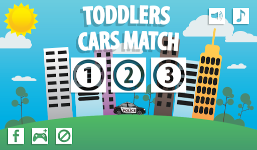 Toddlers Cars Match