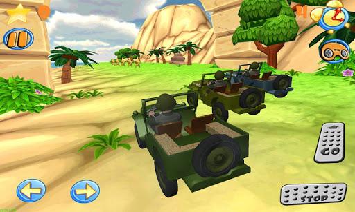 Wild race cars Jeep 4x4 HD