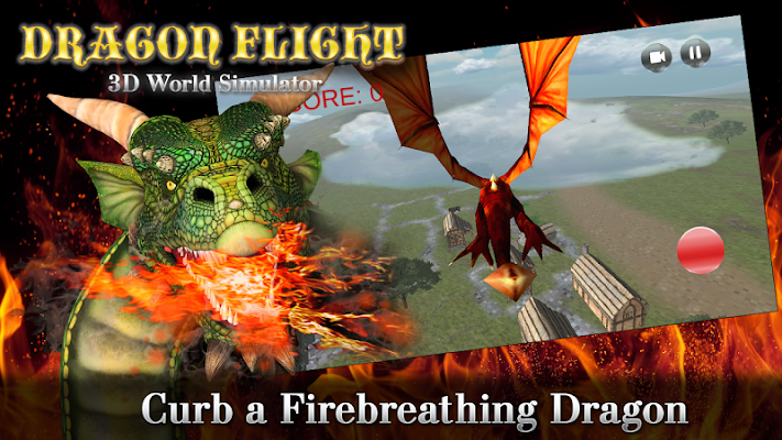 Dragon Flight - 3D World Sim - screenshot
