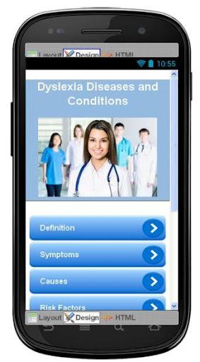 Dyslexia Disease Symptoms