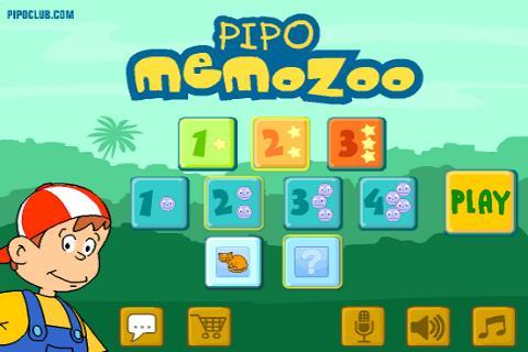Pipo Memo Zoo Full