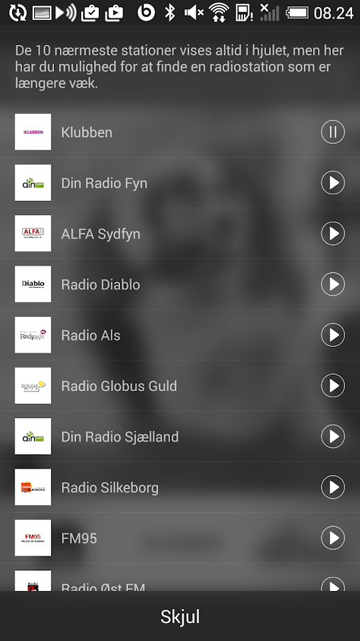 Min-Radio - Min lokale radio- screenshot