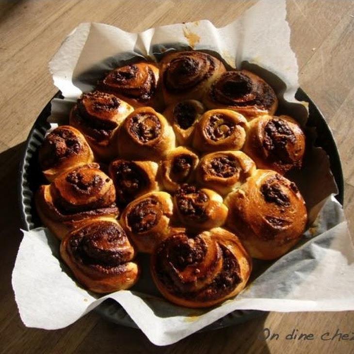 French Pastry Cream Brioche with Nutella