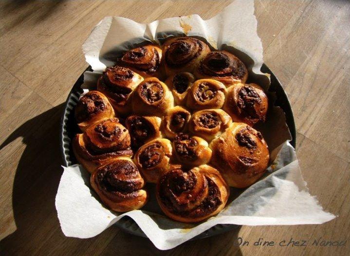 French Pastry Cream Brioche with Nutella Recipe