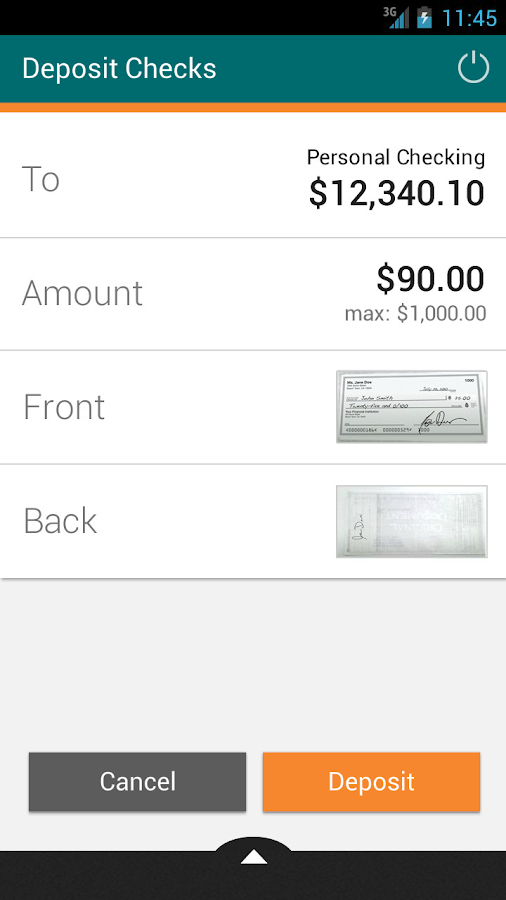 IAA Credit Union Mobile - screenshot