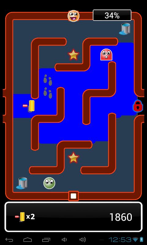 Paint Runner - screenshot