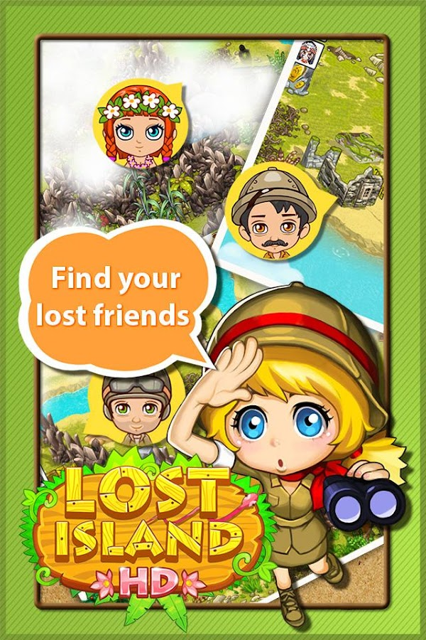 Lost Island HD - screenshot