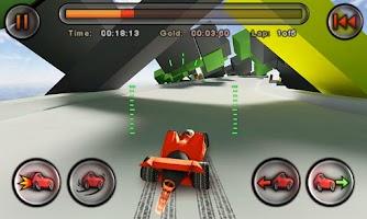 Screenshot of Jet Car Stunts Lite