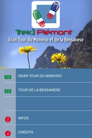 玩旅遊App|TREK3 PIÉMONT免費|APP試玩