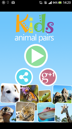 Kids Animal Pairs
