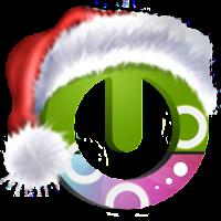 Santa on the way free theme 1.2
