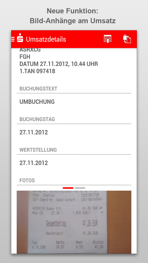 Sparkasse+ - screenshot