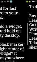 Screenshot of Notepadus Widget Full Free