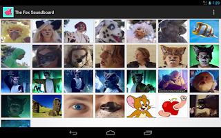 Screenshot of The Fox Soundboard - Ylvis