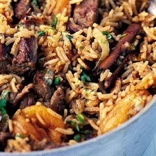 Spicy Moroccan rice.