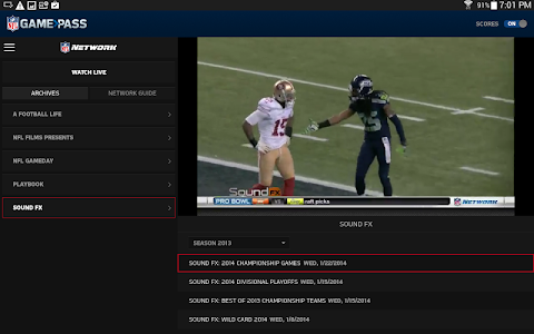 NFL Game Pass screenshot 9