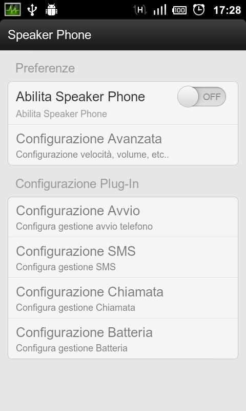 Speaker Phone - screenshot