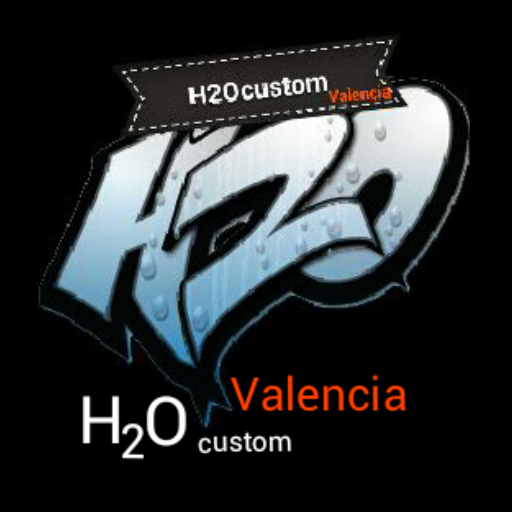 H2O Custom Valencia LOGO-APP點子