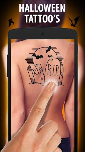 刺青纹身万圣节