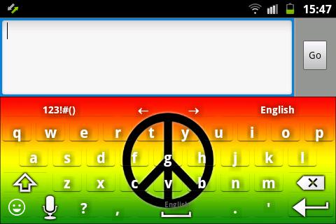 和平拉斯塔鍵盤
