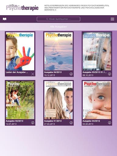 【免費新聞App】Freie Psychotherapie - PsyMag-APP點子