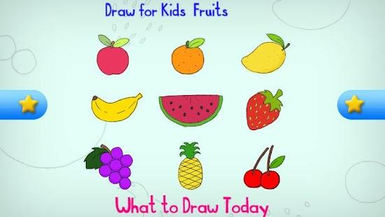 draw for kids fruit screenshot thumbnail