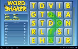 Screenshot of Word Shaker