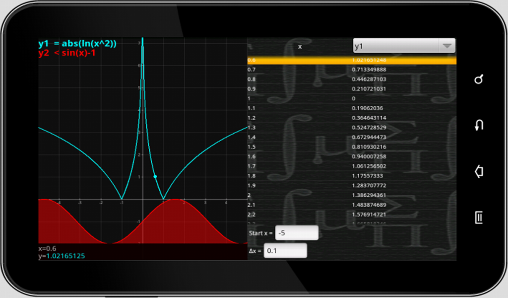 MathPac+ Graphing Calculator- screenshot