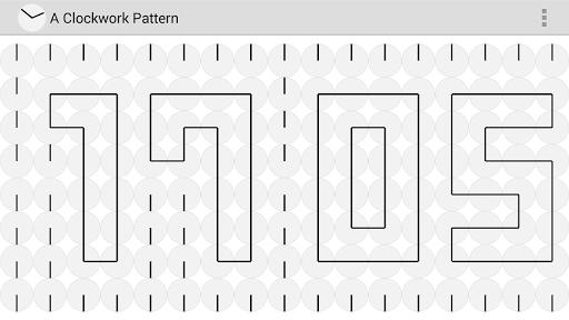 A Clockwork Pattern