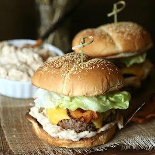 Caramelized Onion Dip Burger.