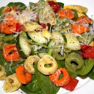 Tortellini Spinach Salad.