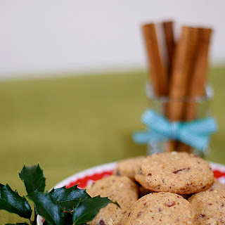 Chocolate Orange Pecan Cookies