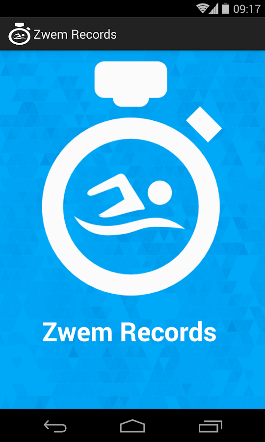 Swim Records- screenshot