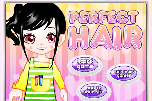 hair salon games - screenshot
