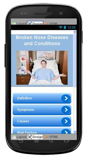Broken Nose Disease Symptoms