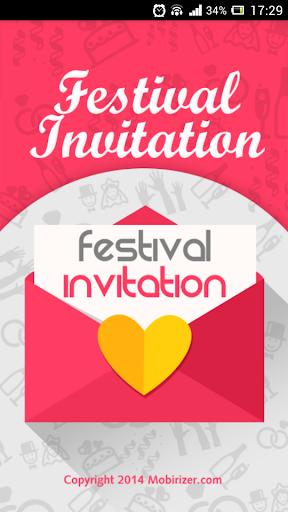 Festival Invitation Pro