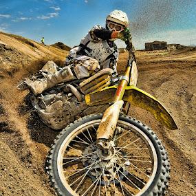 Sandblaster by Richard Caverly - Sports & Fitness Motorsports ( 595 )