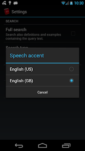 Offline English Dictionary FREE- screenshot thumbnail