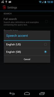 Offline English Dict. FREE - screenshot thumbnail