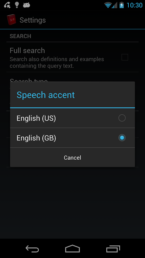 Offline English Dictionary FREE- screenshot