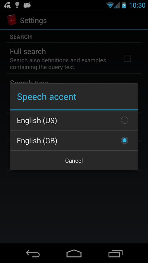 Offline English Dict. FREE - screenshot