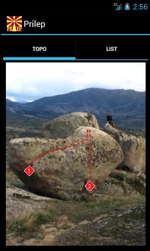 Prilep Bouldering Topo