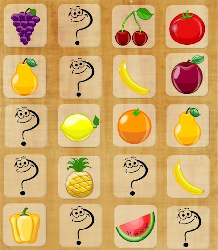 Match Up Fruits