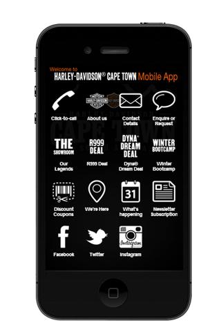 H-D Cape Town App