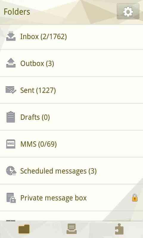 GO SMS Pro Cornner theme screenshot #5