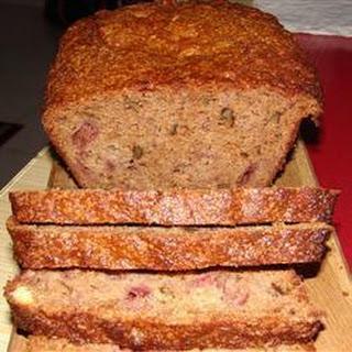Banana & Strawberry Wheaten Bread