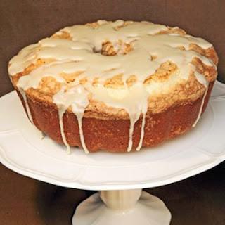 Pound Cake with Maple Glaze.
