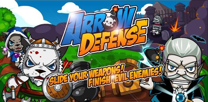 Arrow Defense - защитите замок скачать на андроид