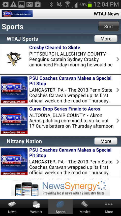 WeAreCentralPA.com/WTAJ - screenshot